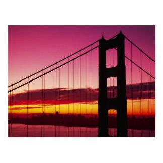 Golden Gate Bridge, San Francisco, California, 6 Postcard