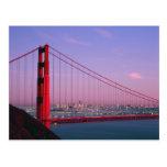 Golden Gate Bridge, San Francisco, California, 7 Postcard