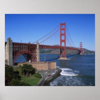 Golden Gate Bridge, San Francisco, California, 7 Poster