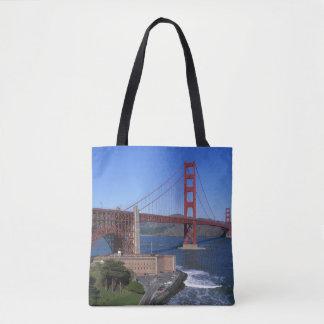 Golden Gate Bridge, San Francisco, California 7 Tote Bag