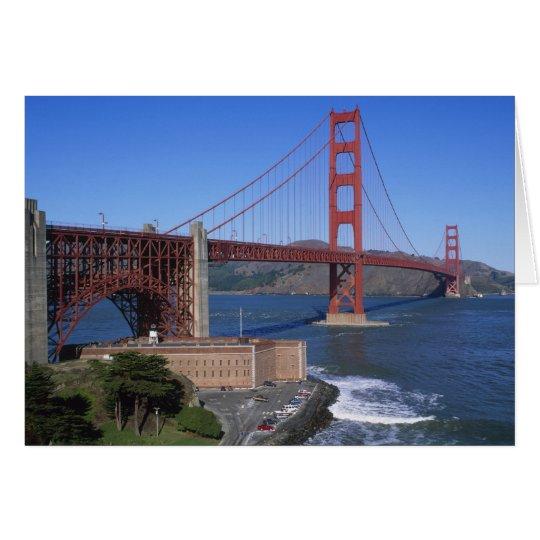 Golden Gate Bridge, San Francisco, California, 8 Card
