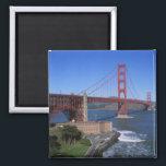 "Golden Gate Bridge, San Francisco, California, 8 Magnet<br><div class=""desc"">Golden Gate Bridge,  San Francisco,  California,  USA � Paul Thompson / DanitaDelimont.com</div>"