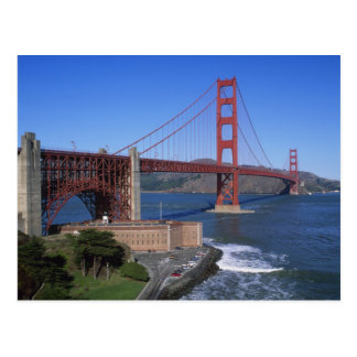 Golden Gate Bridge, San Francisco, California, 8 Postcard