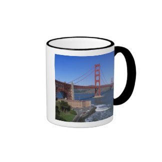 Golden Gate Bridge, San Francisco, California, 8 Ringer Mug