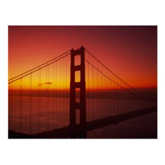 Golden Gate Bridge, San Francisco, California, 9 Postcard