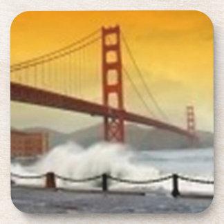 Golden Gate Bridge, San Francisco California Coaster