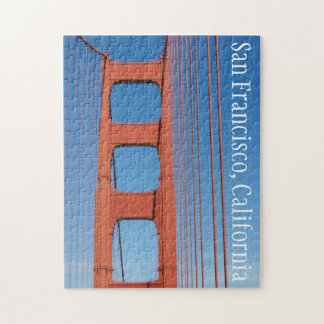 Golden Gate Bridge San Francisco California Jigsaw Puzzle