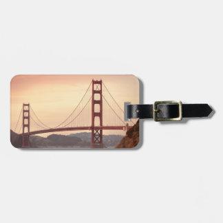 Golden Gate Bridge San Francisco California Bag Tag
