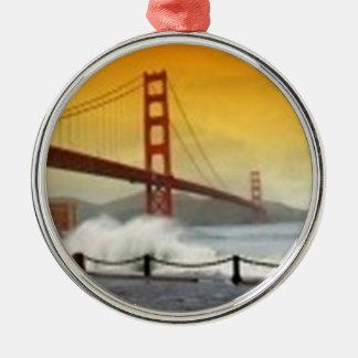 Golden Gate Bridge San Francisco California Metal Ornament