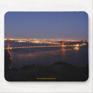 Golden Gate Bridge,  San Francisco, California Mouse Pad