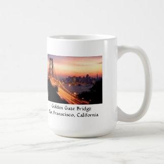 Golden Gate Bridge San Francisco California Classic White Coffee Mug