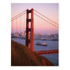 Golden Gate Bridge; San Francisco; California; Postcard