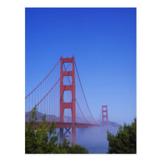 Golden Gate Bridge, San Francisco, California, Postcard