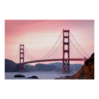 Golden Gate Bridge, San Francisco, California Poster
