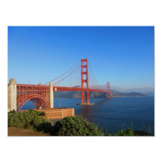 Golden Gate Bridge San Francisco, California Poster