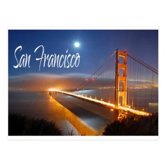 Golden Gate Bridge, San Francisco, California, USA Postcard