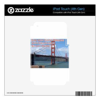 Golden Gate Bridge San Francisco California USA Skin For iPod Touch 4G