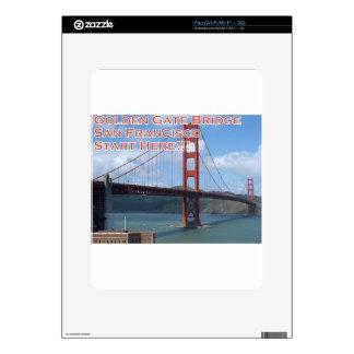 Golden Gate Bridge San Francisco California USA Skin For The iPad