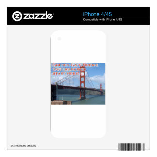Golden Gate Bridge San Francisco California USA Skins For The iPhone 4S