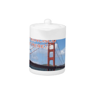 Golden Gate Bridge San Francisco California USA Teapot