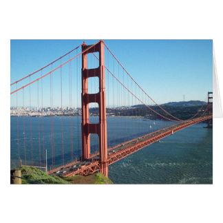 Golden Gate Bridge, San Francisco Card
