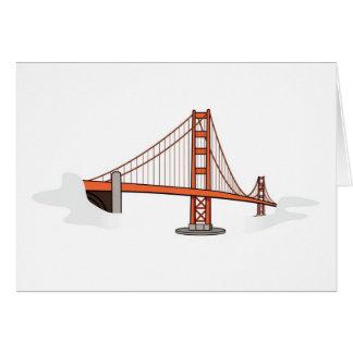Golden Gate Bridge   San Francisco Destination Greeting Card