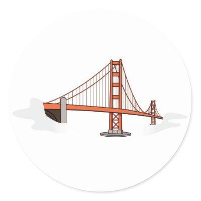 golden gate bridge drawing clip art. Golden Gate Bridge San