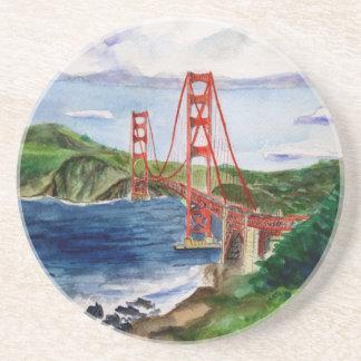 Golden Gate Bridge (San Francisco) Drink Coaster