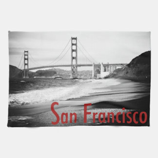 Golden Gate Bridge, San Francisco Hand Towel