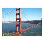 "Golden Gate Bridge, San Francisco 5"" X 7"" Invitation Card"