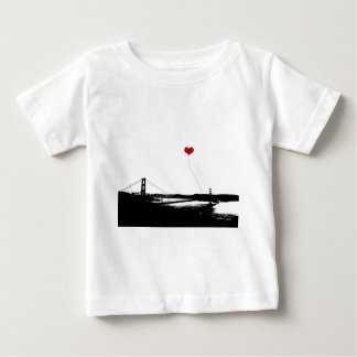 Golden Gate Bridge San Francisco Lover's Baby T-Shirt