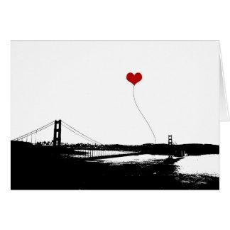 Golden Gate Bridge San Francisco Lover's Cards