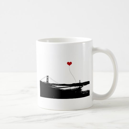 Golden Gate Bridge San Francisco Lover's Coffee Mug