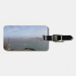 Golden Gate Bridge San Francisco Luggage tag