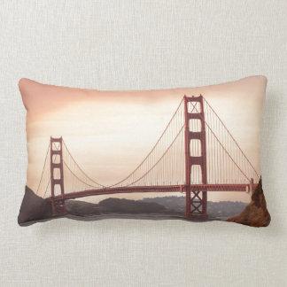 Golden Gate Bridge, San Francisco Lumbar Pillow