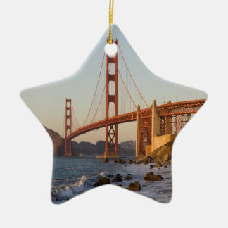 Golden Gate Bridge San Francisco Christmas Tree Ornament