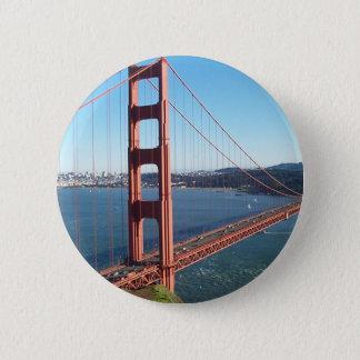 Golden Gate Bridge, San Francisco Pinback Button