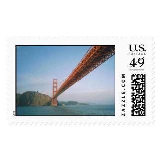 Golden Gate Bridge- San Francisco Postage Stamp
