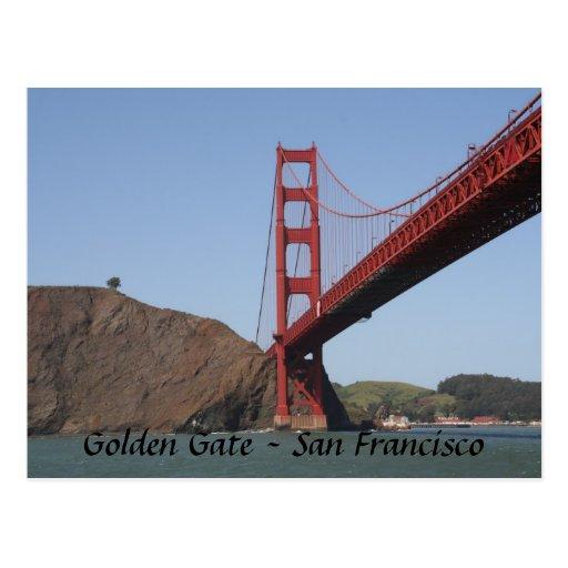 Golden Gate Bridge- San Francisco Postcards