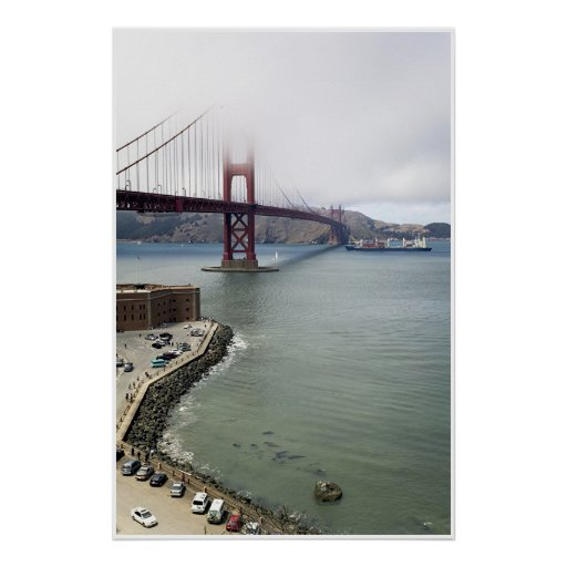 Golden Gate Bridge San Francisco Poster Zazzle