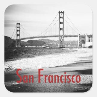 Golden Gate Bridge, San Francisco Square Sticker