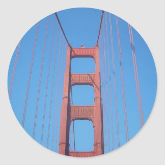 Golden Gate Bridge, San Francisco - Stickers