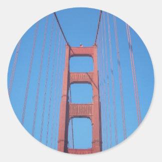 Golden Gate Bridge, San Francisco - Stickers