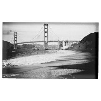 Golden Gate Bridge, San Francisco Table Number Holder