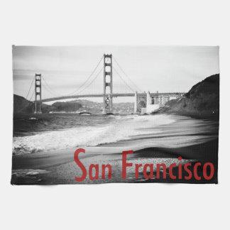 Golden Gate Bridge, San Francisco Towels