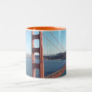 Golden Gate Bridge, San Francisco Two-Tone Coffee Mug