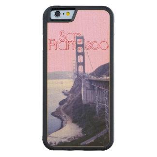 Golden Gate Bridge San Francisco Carved® Maple iPhone 6 Bumper Case