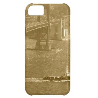 Golden Gate Bridge Sepia San Francisco iPhone Case iPhone 5C Cases