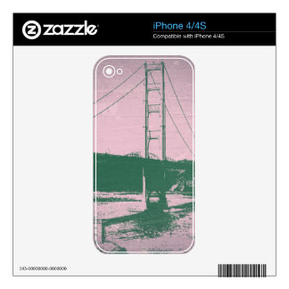 Golden Gate bridge iPhone 4S Decals