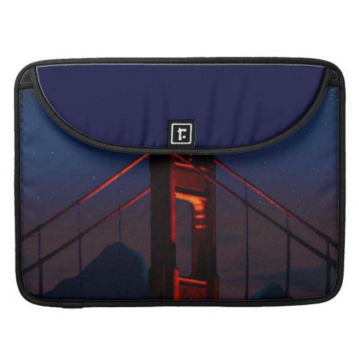 Golden Gate Bridge Sleeves For MacBook Pro